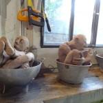 à l'atelier d'Alexandre, St Maur, octobre 2014