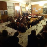 Les coulisses : le repas des artistes, au Colibri