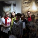 Les Lauréats en compagnie de Mme Guilleminot, adjointe à la Culture