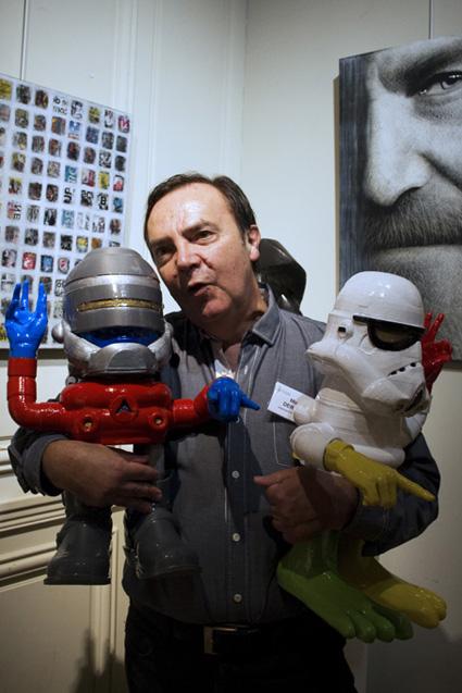 """Prix SCARRON : Michel Derozier, """"Comics Troopers"""""""