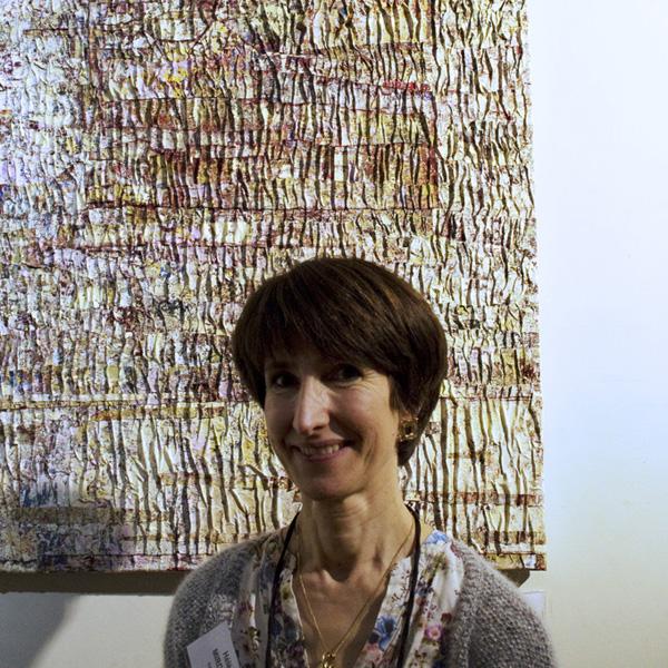 "Prix Yves Klein : Hélène Mirobent, ""Ecriture 2"""