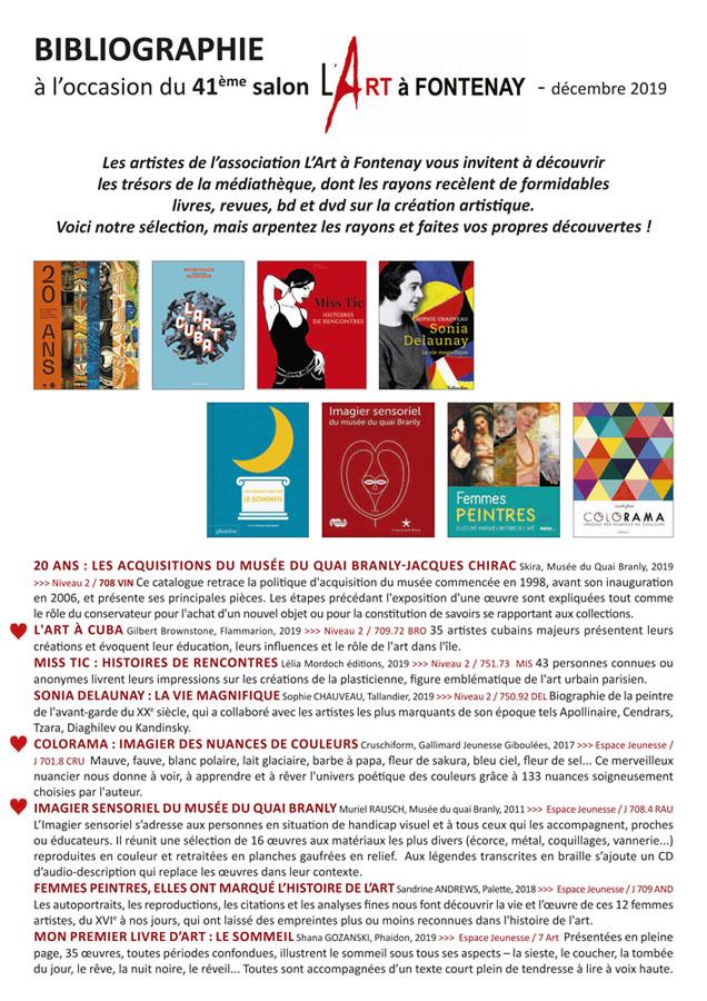 bibliographie 2019 - page 1